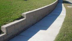 Ландшафтное проектирование: подпорные стенки