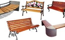 Как выбрать стильные садовые скамейки